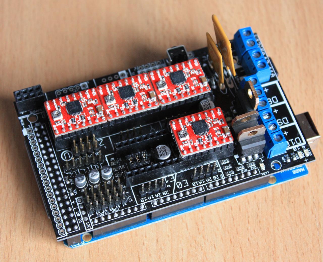 Nullblog  3D принтер RepRap. Часть 4 - электроника 64882248b813f