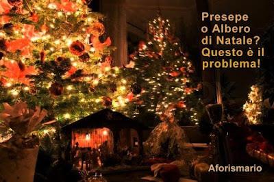 Albero Di Natale Con Frasi.Aforismario Frasi E Citazioni Sul Presepe E Sull Albero Di Natale