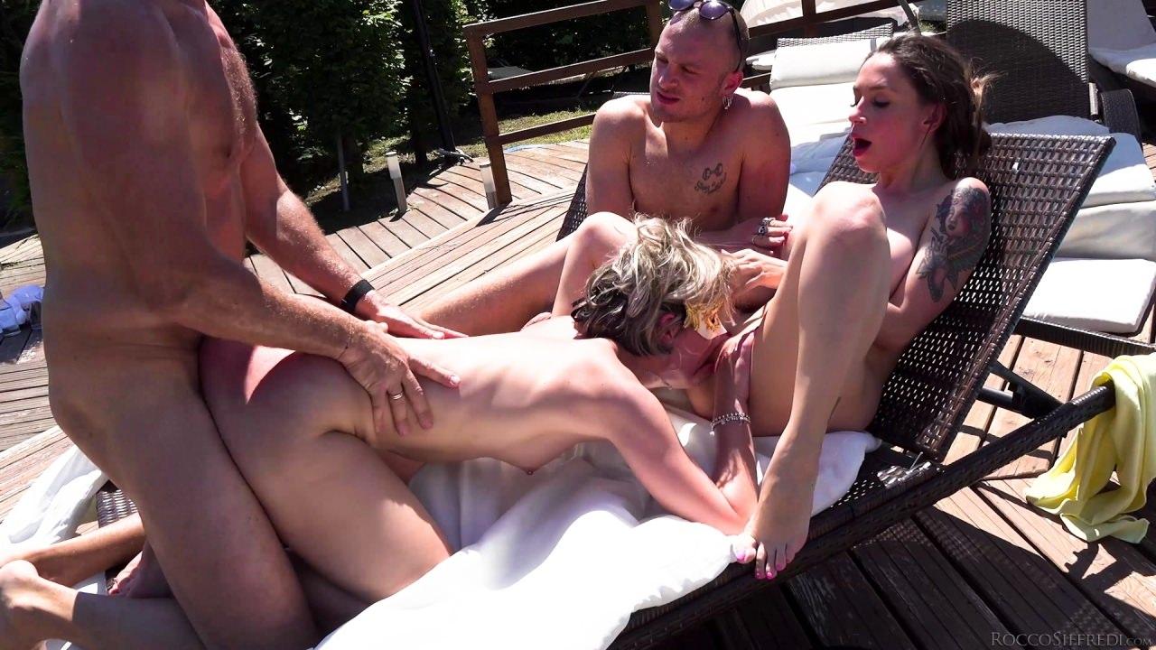 Orgy By The Pool,4K ANAL , ITALIA ,ROCCO SIFFREDI , THREESOME ,UNCENSORED, WESTEN ,WESTEN PORN ,