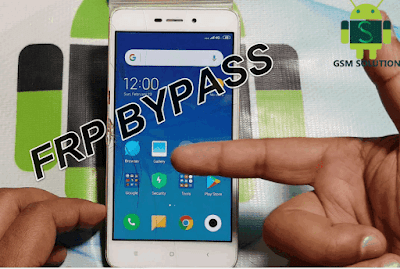 Xiaomi Redmi 4A( 2016117 ) FRP Bypass Latest Security Without Pc.