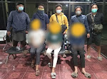 Tiga Bajingan Kampung, Pelaku Pengeroyokan Anak di Bawah Umur Desa Pambundayan Bolmong di Aankan Polisi