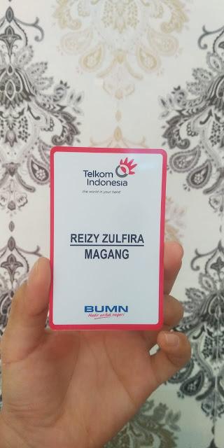 Id Card Pegawai Magang TELKOM