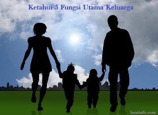 Buat Info - Ketahui 5 Fungsi Utama Keluarga