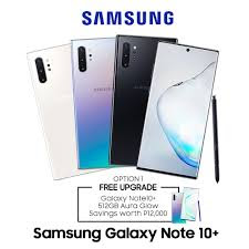 Samsung Galaxy note 10 & note 10+ Colour