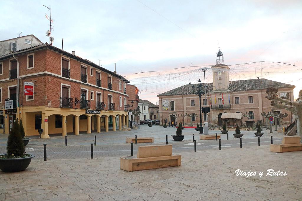 Plaza Mayor de Carrión de los Condes