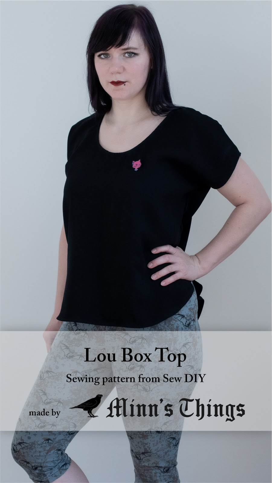 minn's things alternative blogger sewing pattern sew diy lou box top pinterest