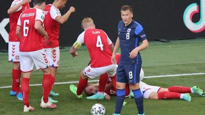 Euro 2020: Christian Eriksen of Denmark fainted on the field