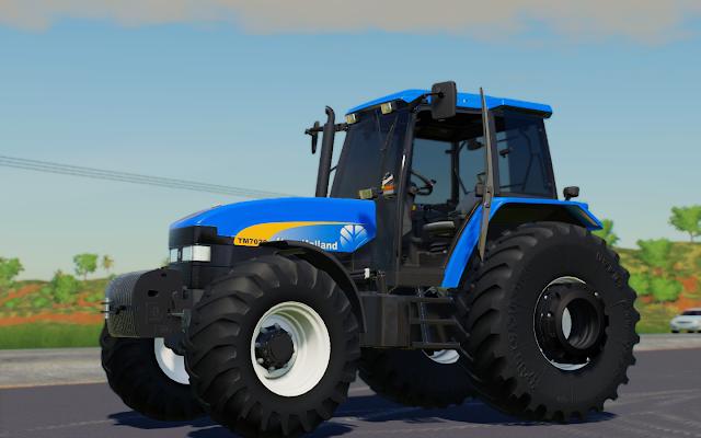 FS19 NEW HOLLAND TM 7020