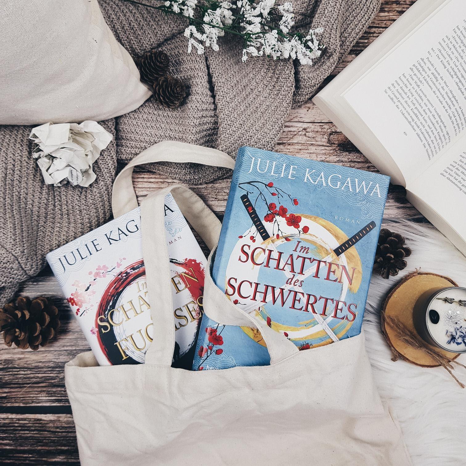 Bücherblog. Rezension. Buchcover. Im Schatten des Schwertes (Band 2) von Julie Kagawa. Jugendbuch. Fantasy. Heyne fliegt.
