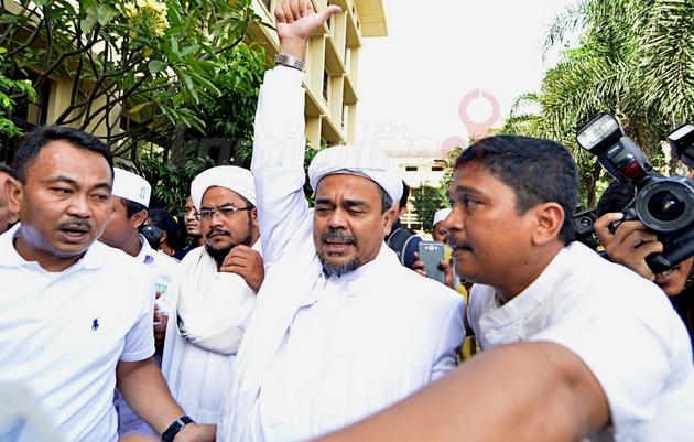 Habib Rizieq Shihab /via: Kriminalitas.com