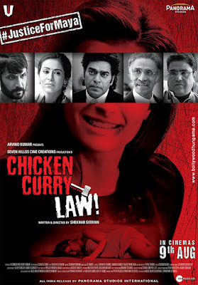 Chicken Curry Law 2019 Hindi Pre-DVDRip 700MB