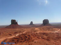 Monument valley desde el hotel The view