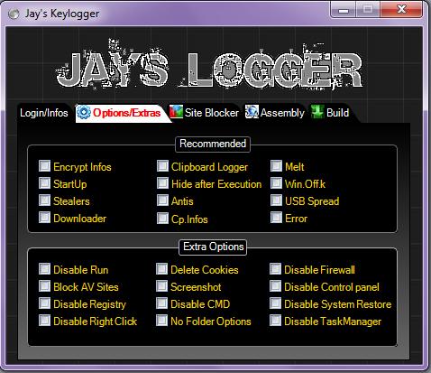 Jays Keylogger | Shwekoyantaw