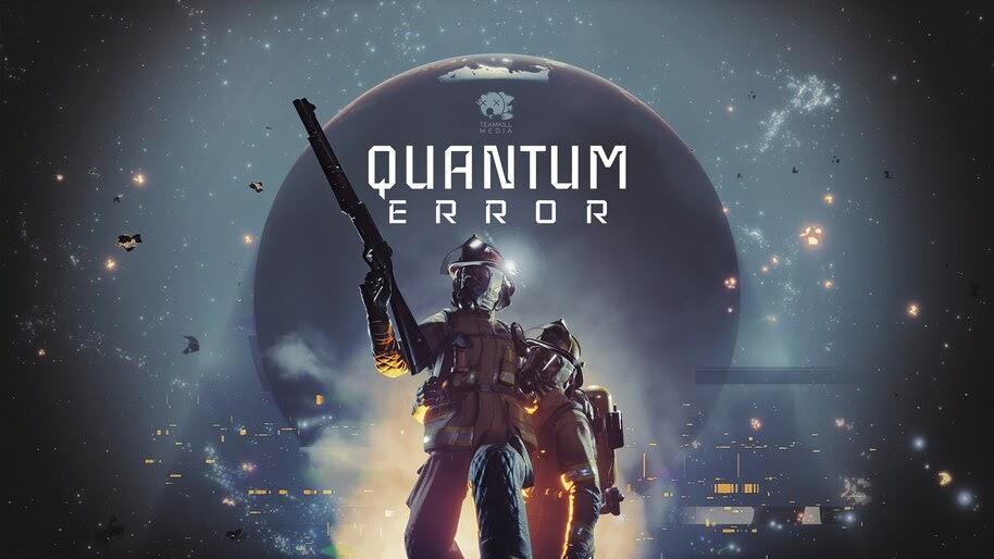 Quantum Error, Video Game, Key, Art, 4K, #3.2681