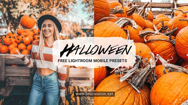 5 Halloween lightroom mobile presets free download