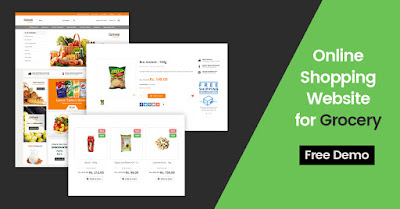 grocery ecommerce website development