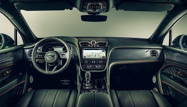 Interior Bentley Bentayga