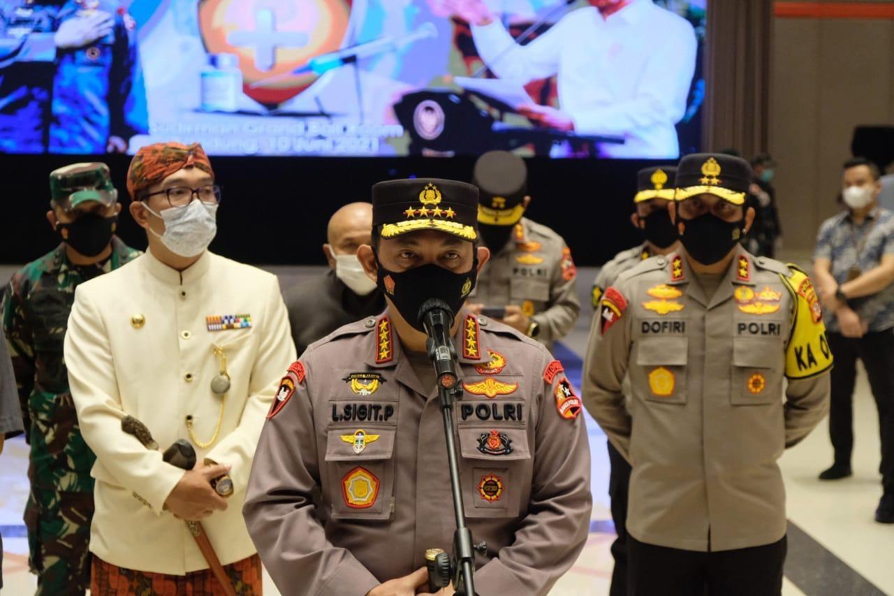 Kapolri: Gagalkan Peredaran 9,7 Ton Narkoba dan Tangkap 217 Pelaku Teroris