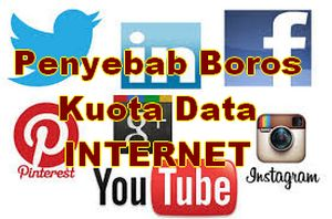 Boros kuota internet data di android