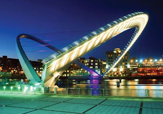 Jembatan Gateshead Millenium Bridge