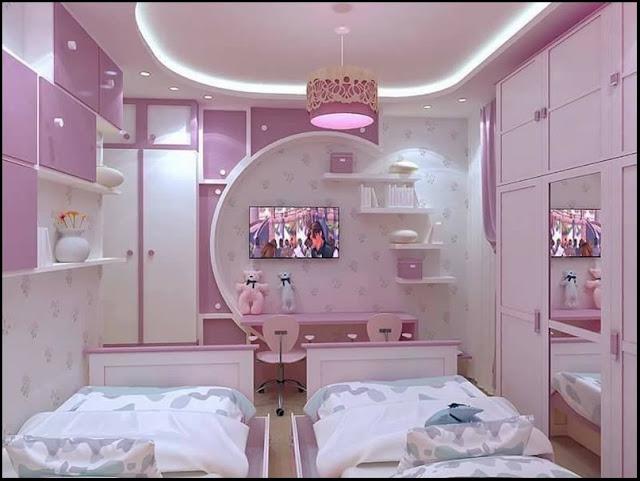 18. bedroom decor colorful