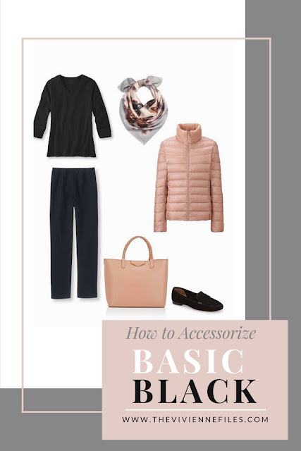 How to Accessorize Basic Black in a Capsule Wardrobe
