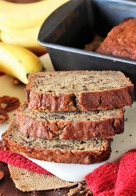 Slices of Buttermilk Banana Bread Image