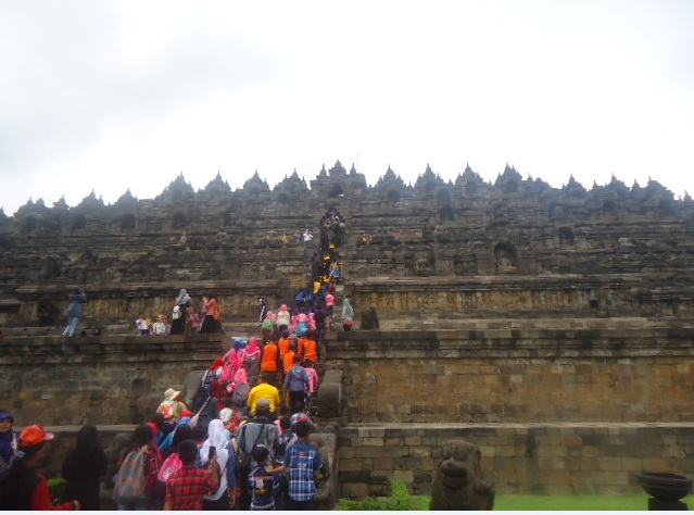 Candi Borobudur sebagai tempat wisata