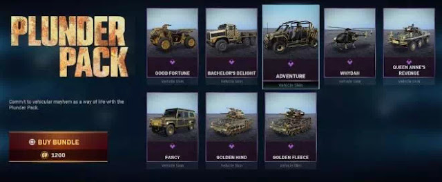 Cara Mendapatkan Skin Gold Vehicle di Call of Duty Warzone-1