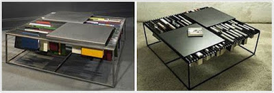 Space Saving Coffeetable Bookshelf;UNIQUE COFFEE TABLES FOR SALE;