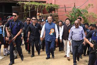 Ginger Festival Manipur 2018 - Hmarram