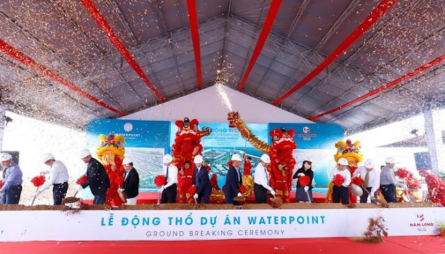 Vị trí dự án khu đô thị Waterpoint Nam Long
