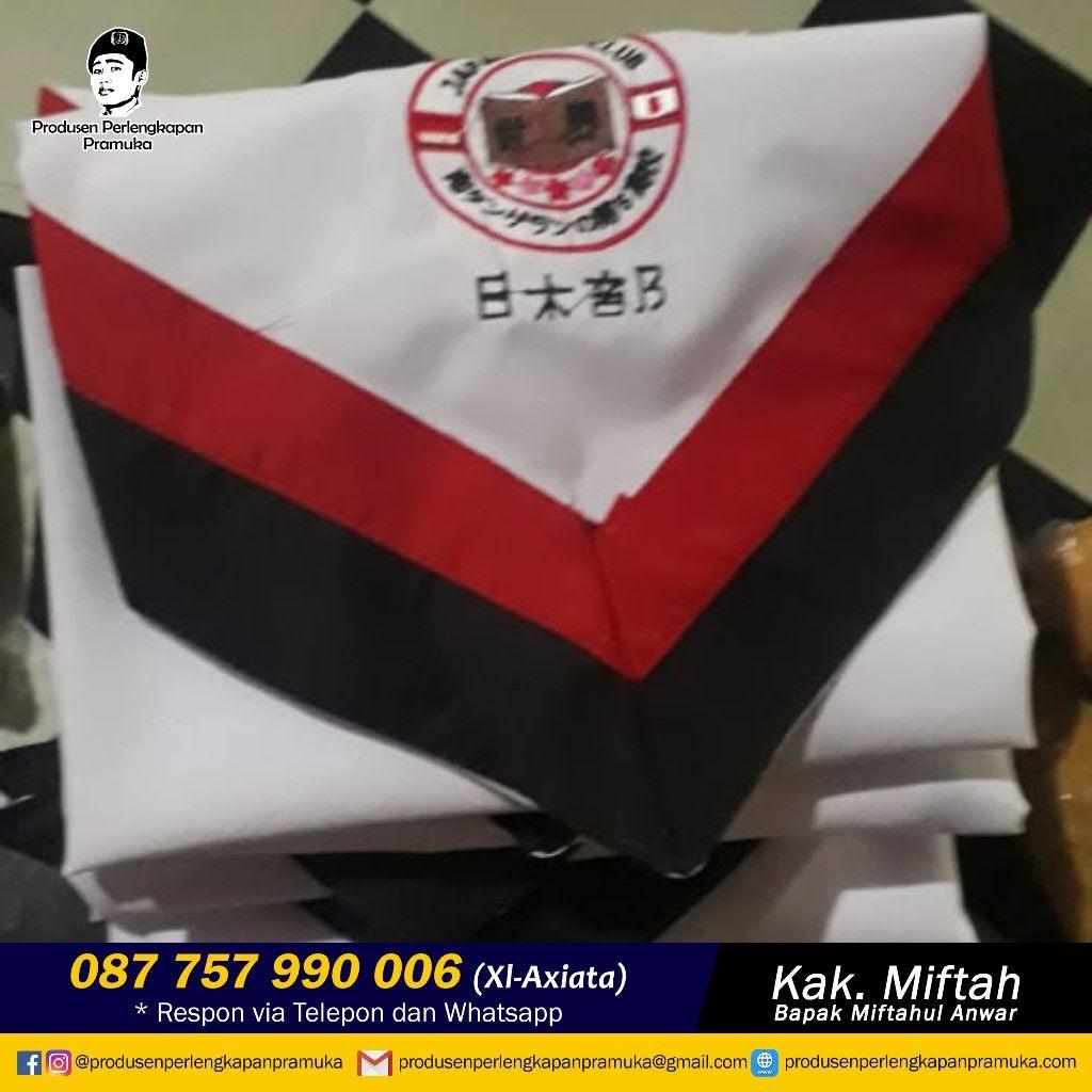 Jual Scarf Pramuka Tangerang, Tangerang Selatan, Tegal, Yogyakarta, Pontianak, Singkawang