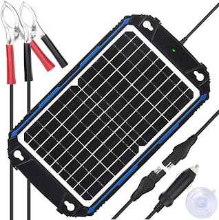 Waterproof 12W Solar Battery Panel Charger