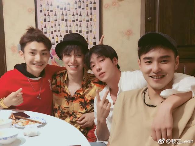 F4 Fuyao Ethan Ruan, Lai Yi, Jiang Long, Gao Hanyu