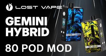 Lost Vape Gemini Hybrid Pod Mod Kit