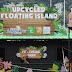 """Tarikan terbaru di Sunway Lagoon, Malaysia yang menghasilkan sebuah pulau yang dibina menggunakan lebih 300 kg bahan-bahan kitar semula dikenali sebagai """"Upcycled Floating Island""""."""