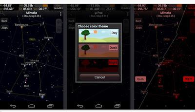 Aplikasi Android Untuk Melihat Bintang di Langit 99% Akurat dan Lengkap dengan Status