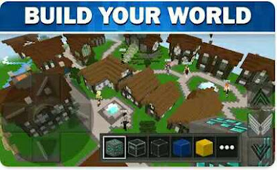 Game Mirip Minecraft - WorldCraft : 3D Build & Craft