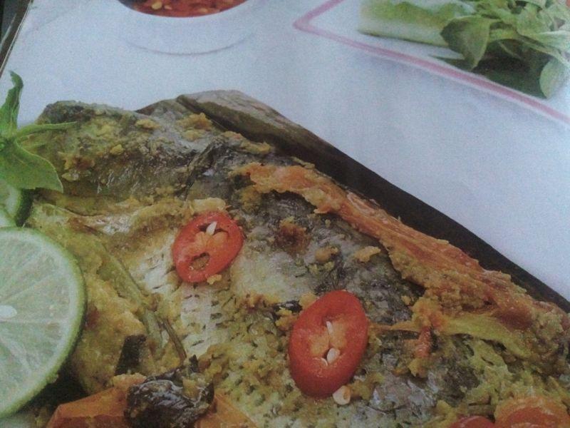 resep pepes ikan mas pedas
