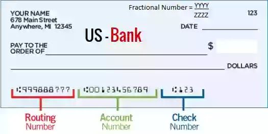 Get The U.S. Bank routing number for account wire transfer