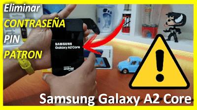 como-reiniciar-de-fabrica-un-Galaxy-A2-Core