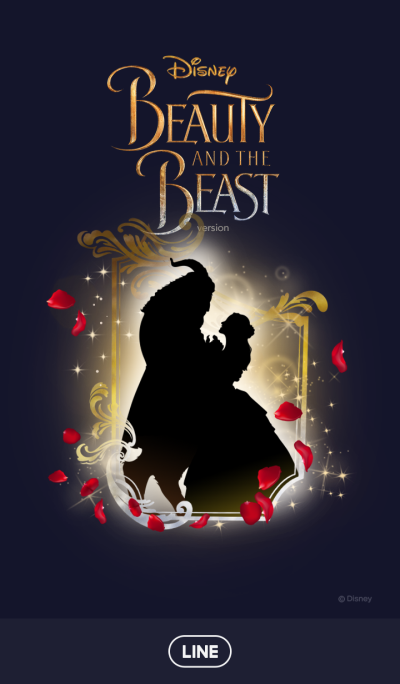 Beauty and the Beast (Silhouette)
