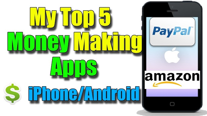 Top 5 Best android apps to earn paypal cash