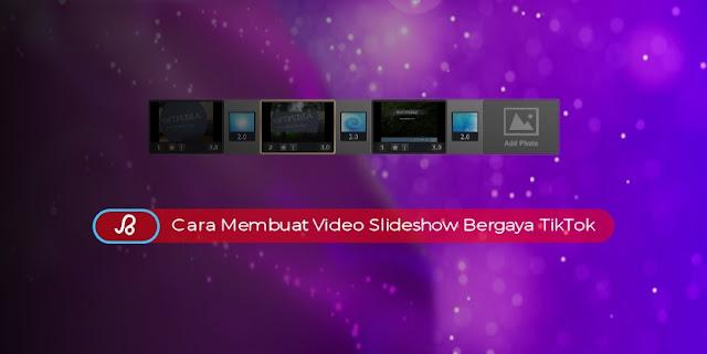 Cara Membuat Video Slideshow bergaya TikTok Secara Online