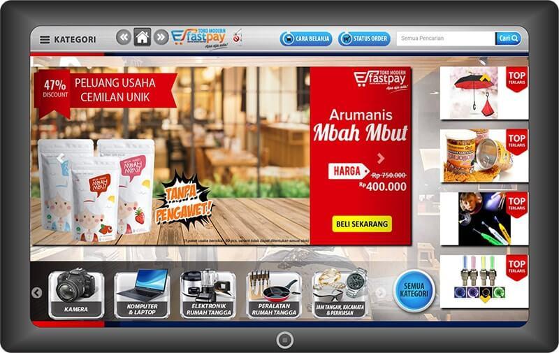 FastPay dengan Layanan Belanja Online to Offline