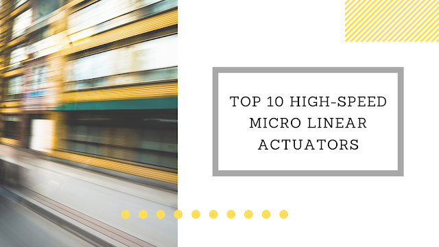 High-speed Micro Linear Actuators