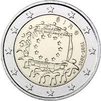 2€ Drapeau Européen 2015 Irlande