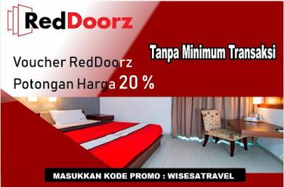 Promo 20% Hotel RedDoorz-Wisesatravel