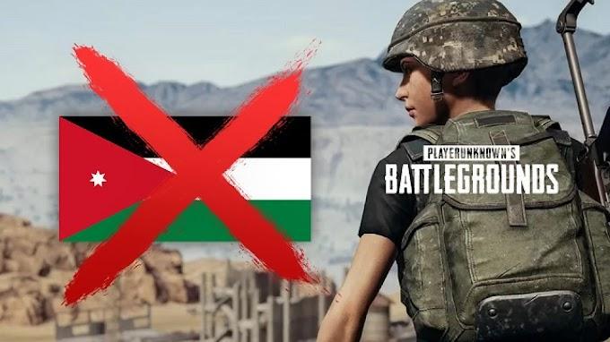 Terulang Kembali Kini Giliran Yordania Yang Banned PUBG